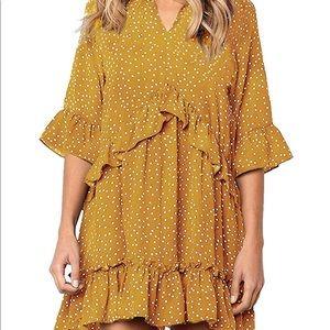 Yellow dress- never worn